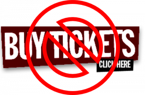 Online ticket sales are now closed