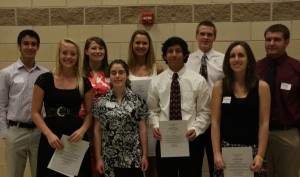 2011 Scholarship Recipients
