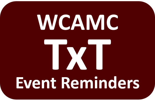 wcamc text reminders